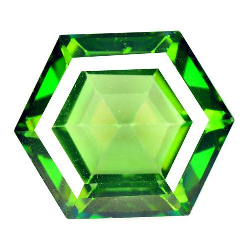 Azotic Topaz 10.88 Carat Green Natural Gemstone