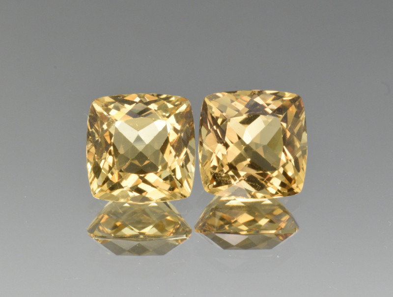 Natural Heliodor Pair 6.37 Cts