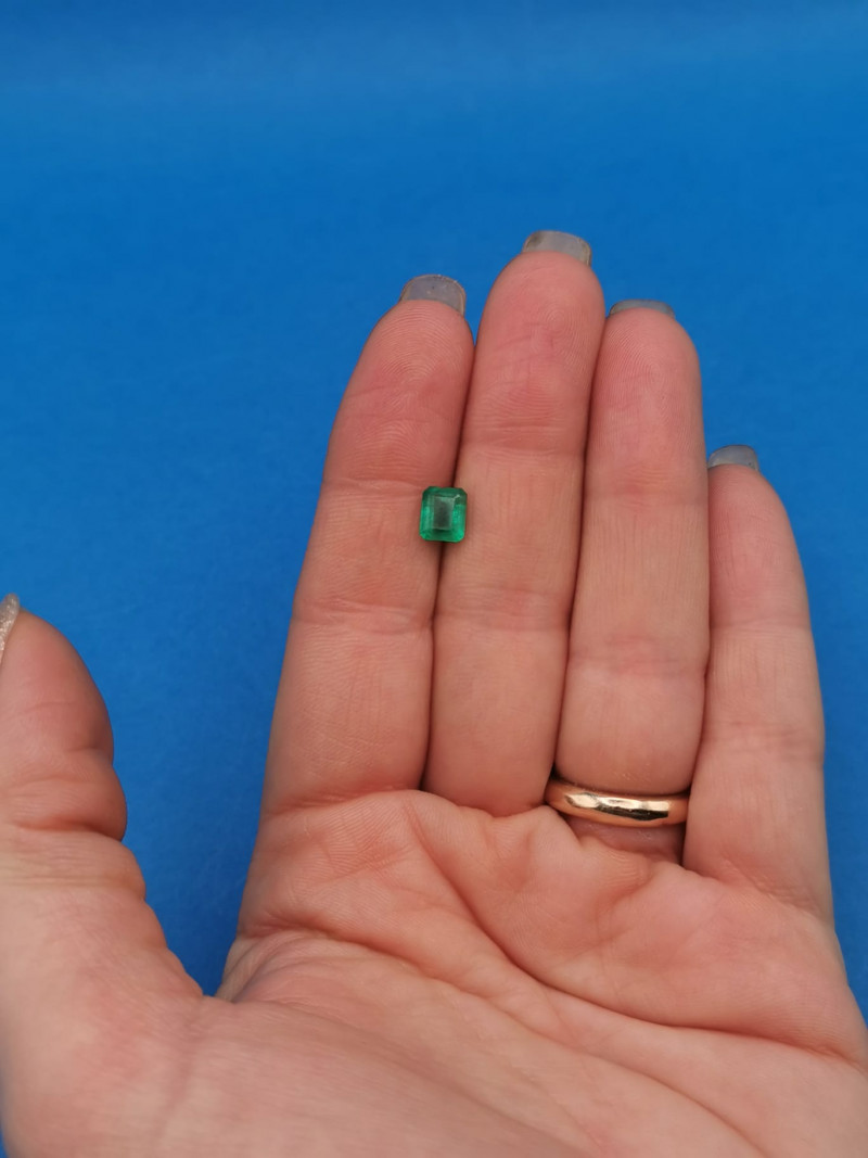 1,11ct Colombian Emeralds Ref 36/75 Colombian Emerald emerald Natural col