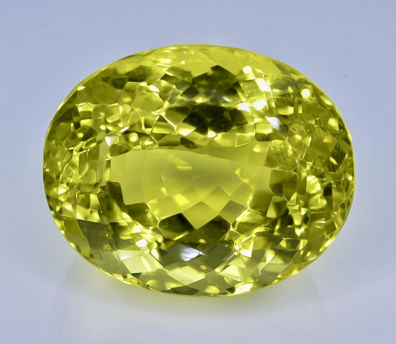 28.98 Crt Natural  Lemon Quartz Faceted Gemstone.( AB 48)