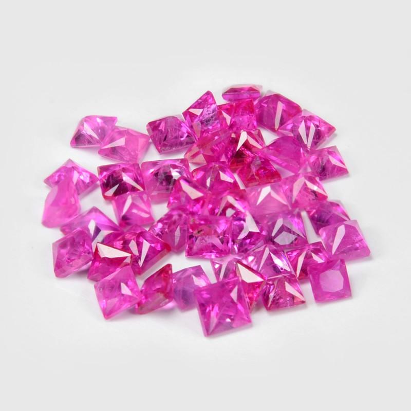2.02 Cts 44 pcs Pink Natural Ruby BURMA  Loose Gemstone