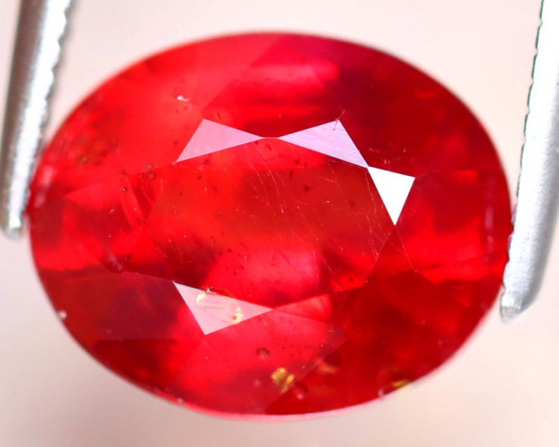 Ruby 3.86Ct Madagascar Blood Red Ruby EF0116/A20