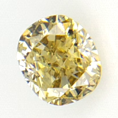 0.13 cts , Oval Modified Brilliant Cut , Natural Light Color