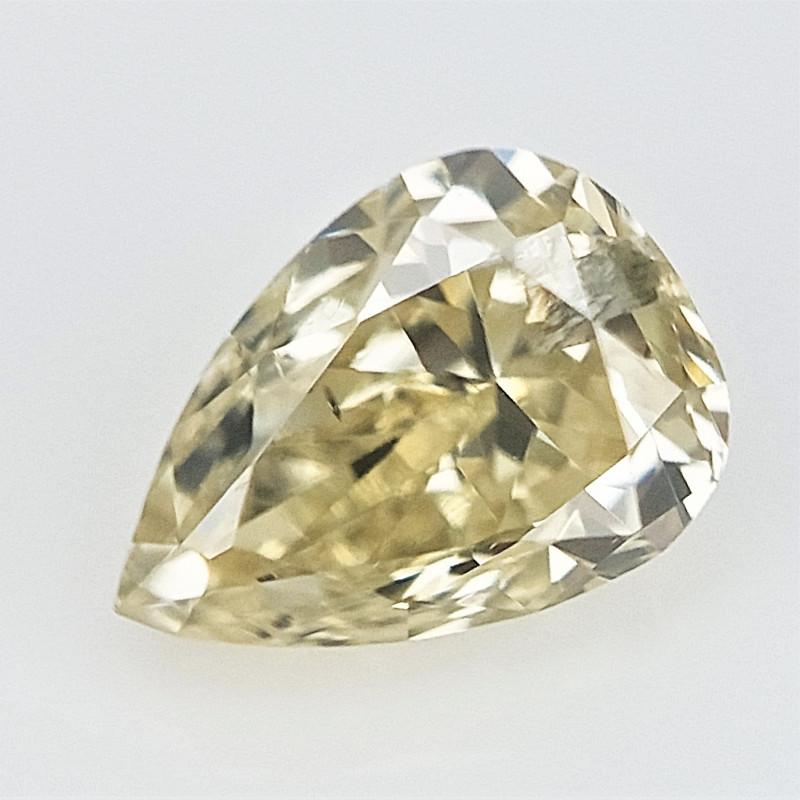 0.13 cts . Natural Pear Diamond , Loose Color Diamond