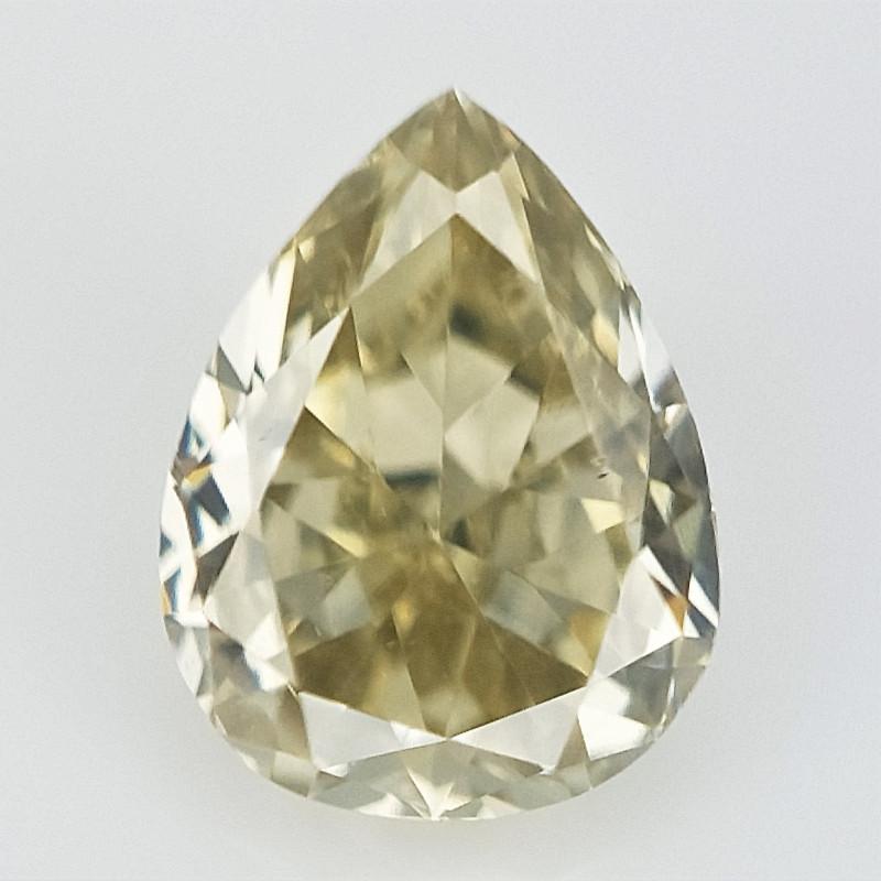 0.10 cts , Clean Diamond , Pear Brilliant Cut