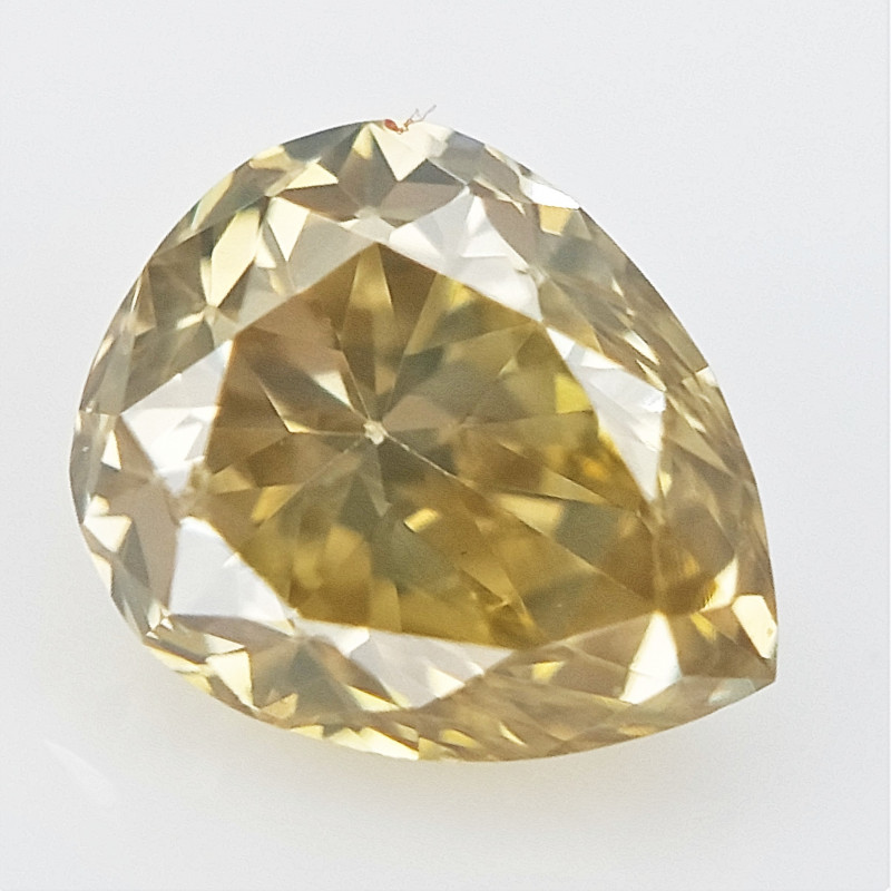 0.11 cts , Natural Colored Diamond , Sparkling Diamond