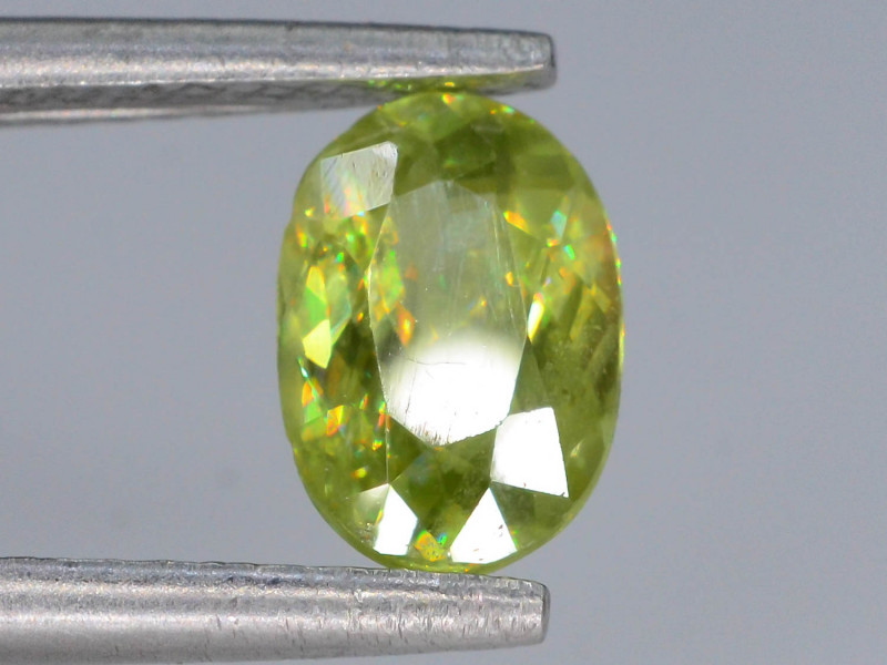 Rare AAA Astonishing Fire 1.05 ct  Sphene