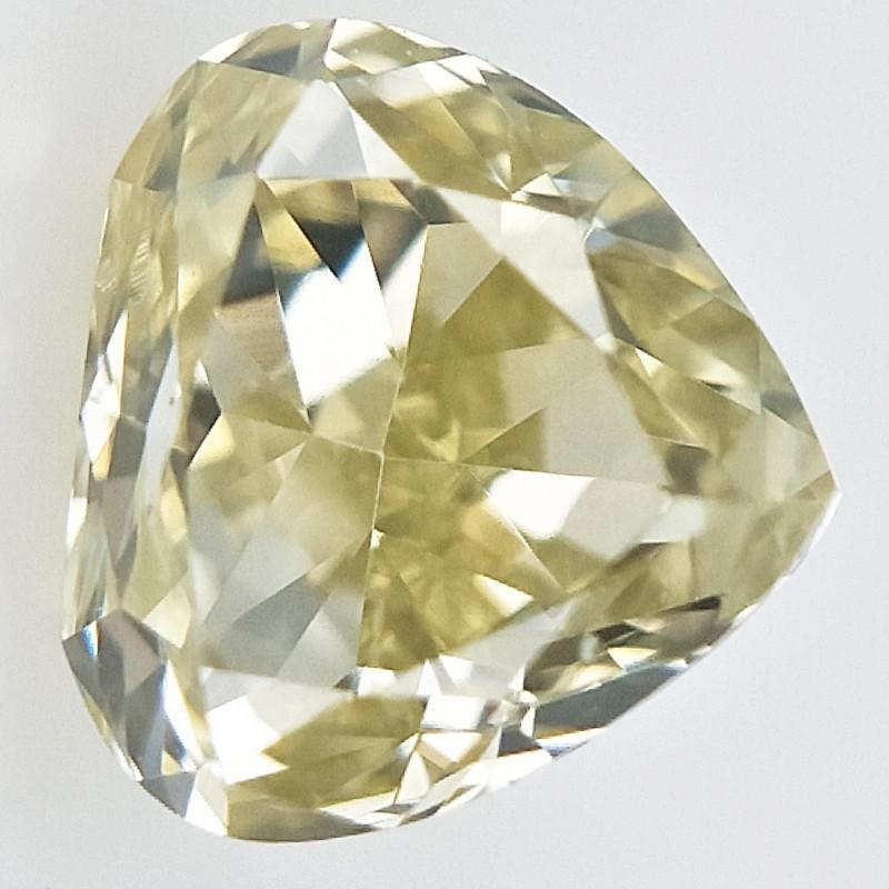 0.13 ct , Natural Yellow Diamond , Sparkling Diamond