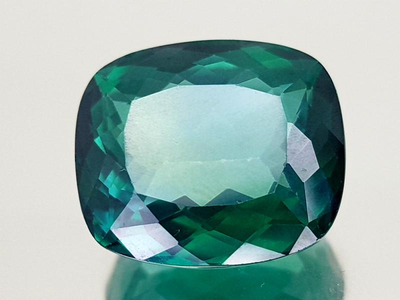 8.35Crt Green Topaz Coated  Natural Gemstones JI30