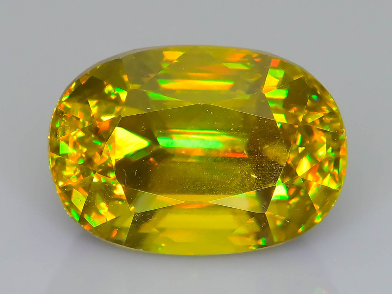 Rare AAA Fire 3.31 ct Sphene Sku-62