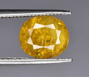 A Beautiful Yellow Sphene 1.75 CTS