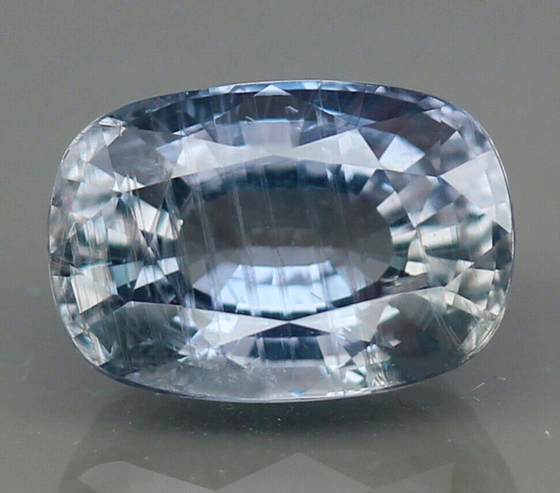 6.57  Ct. Natural Earth Mined Sapphire Unheated - IGI - CERTIFIED