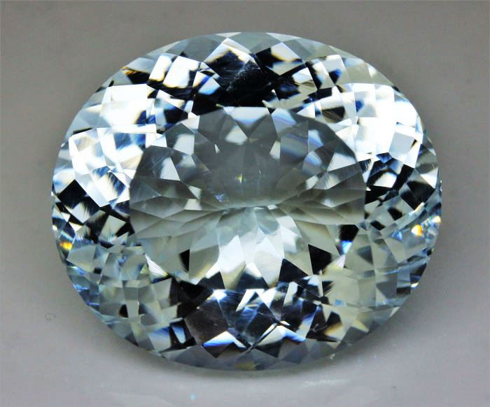 Unheated - 45.10 ct Natural Earth Mined Blue Aquamarine – IGE Certificate