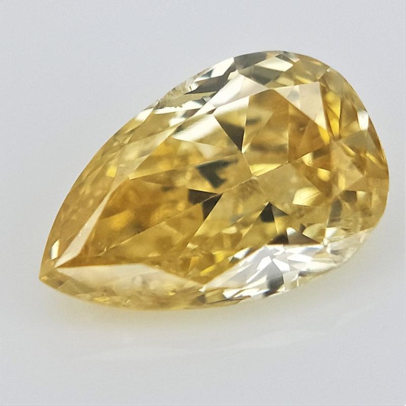 0.13 cts , Rare Color Diamond , Loose Diamond Gemstone