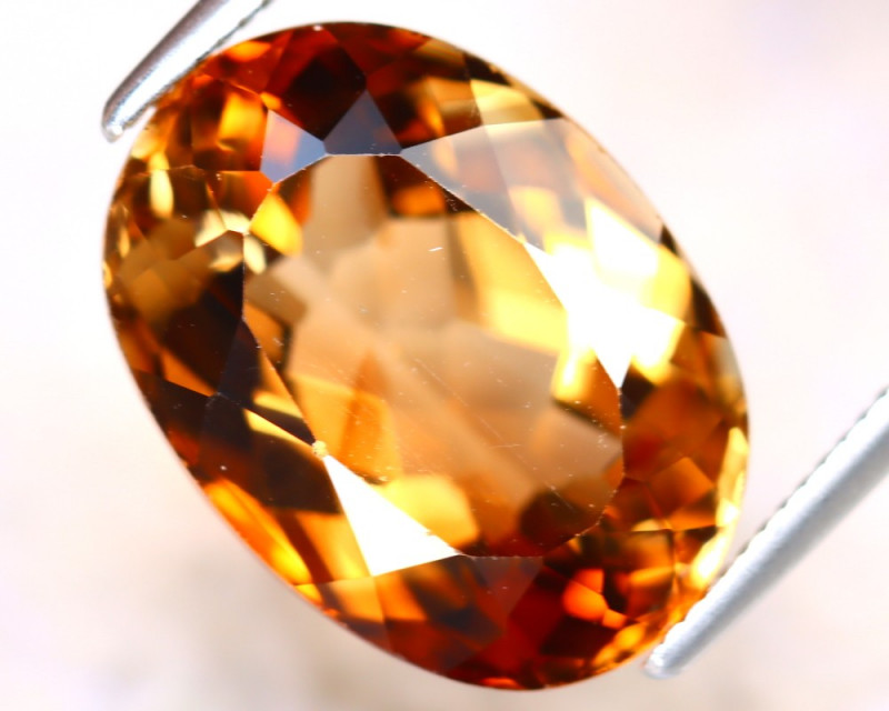Whisky Topaz 9.53Ct Natural Imperial Whisky Topaz DD0413/A46