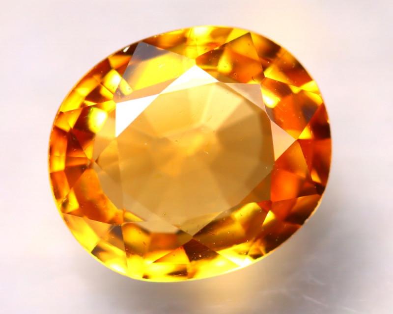 Tourmaline 1.94Ct Natural Golden Yellow Tourmaline DD0420/B19