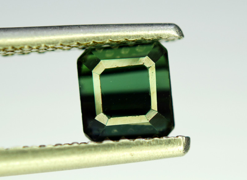 NR Auction 1.85 CT Top Quality Bluish Green Tourmaline Natural Gemstone