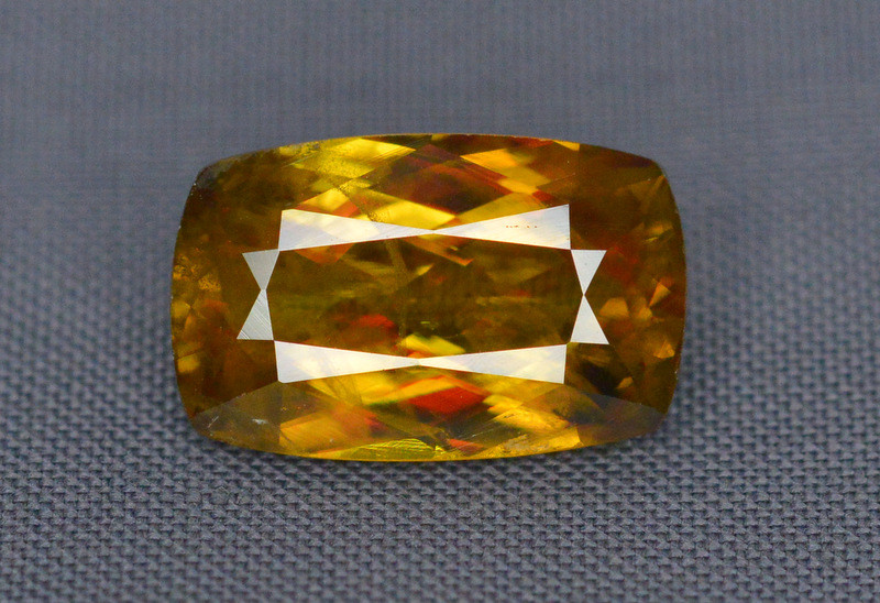 Natural 3.20 Carat Sphene With Amazing Spark