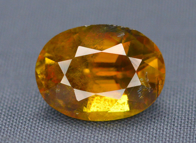 Natural 3.60  carat Sphene With Amazing Spark