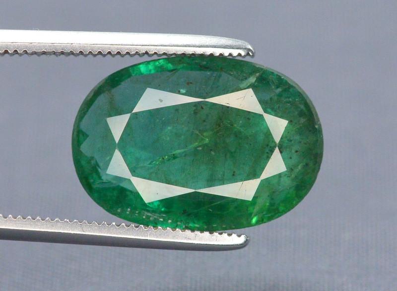 4.15 Ct Brilliant Color Natural Zambian Emerald