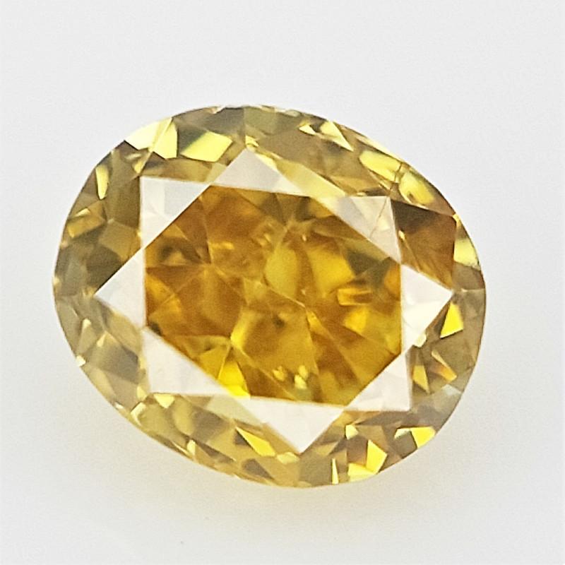 0.08 cts , Natural Yellow Diamond , Loose Diamond gemstone