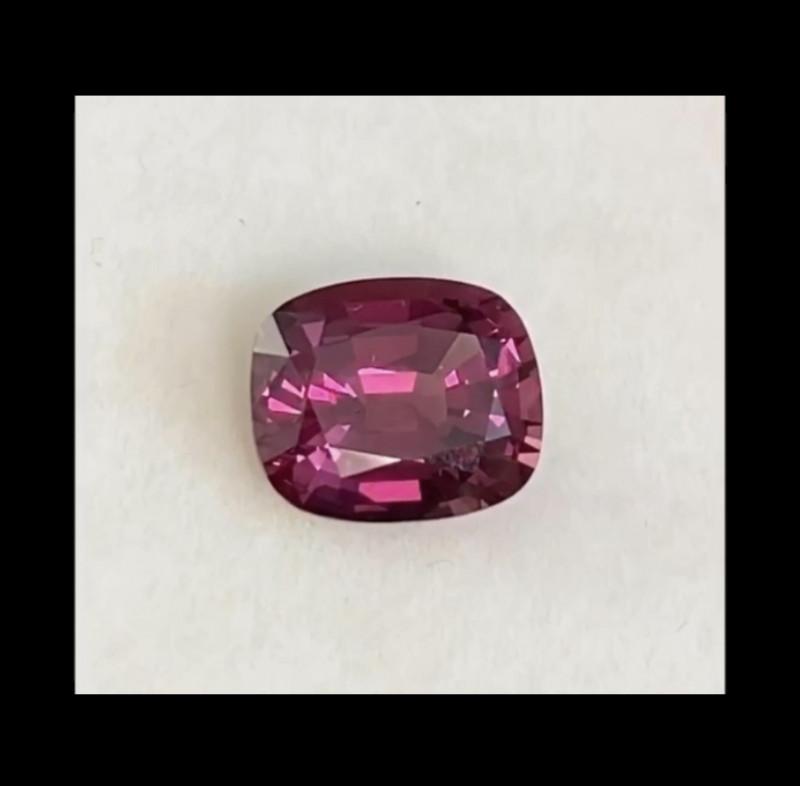 Purplish - Pink Red Rhodolite Garnet - Kenya