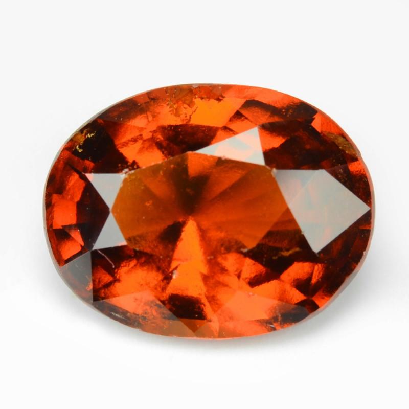Hessonite Garnet 5.56 Cts Rare ORANGE -RED Natural Gemstone