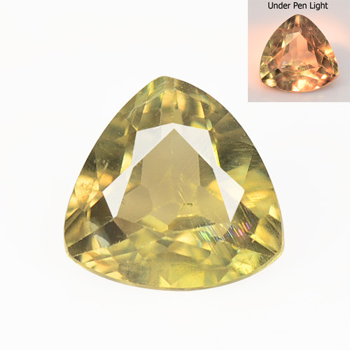 Diaspore 2.28 Cts Rare Color Changing Natural Gemstone
