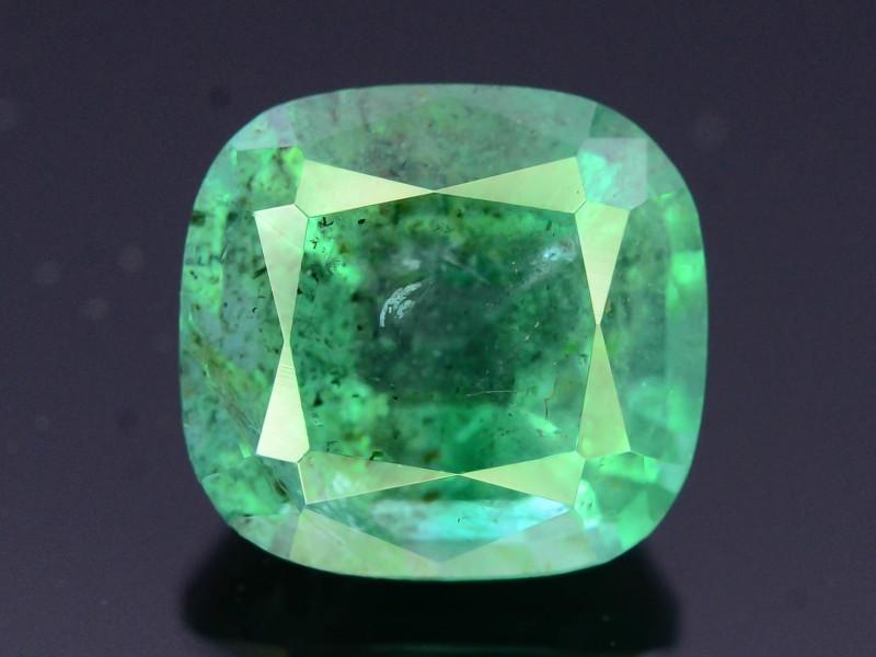 Top Color & Clarity 2.20 ct Emerald~Zambia SJ1