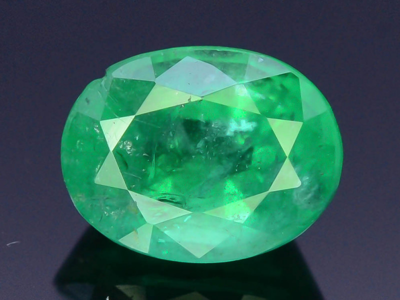 Top Color & Clarity 1.40 ct Emerald~Zambia SJ1