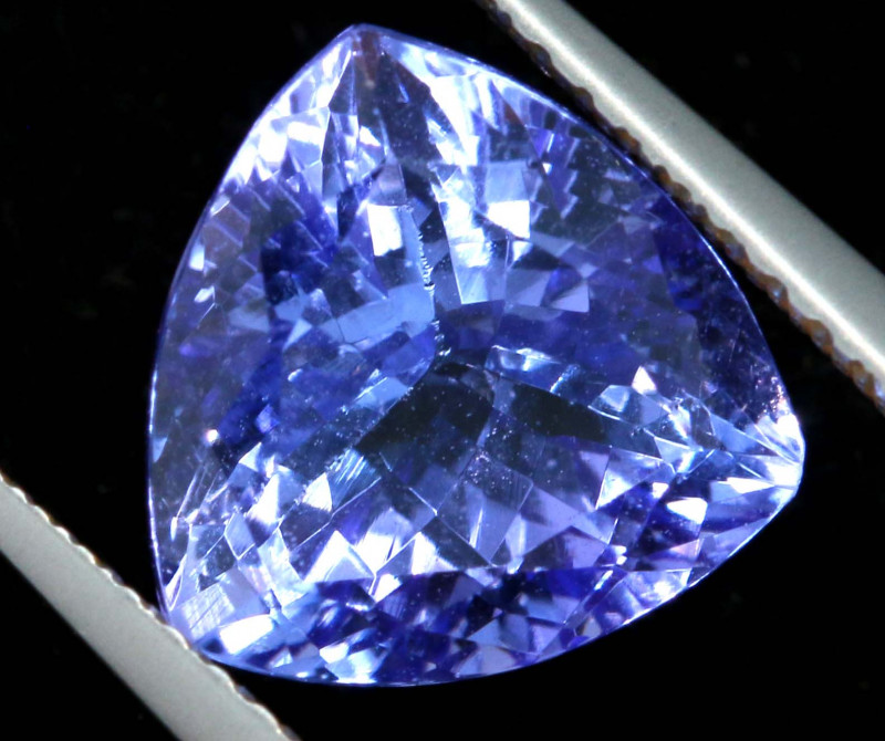 3.50 CTS  TANZANITE  FACETED  STONE   PG-3513