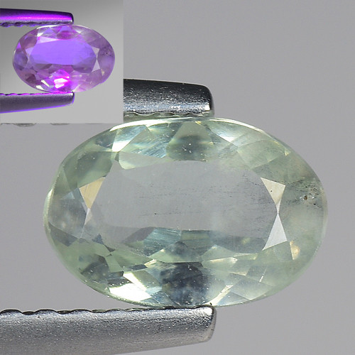 0.69 Ct Aig Cert Alexandrite Rare Color Change Gemstone