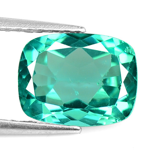 *No Reserve*  Apatite 2.19 Cts Un Heated Natural Neon Blue-Green Apatite Lo