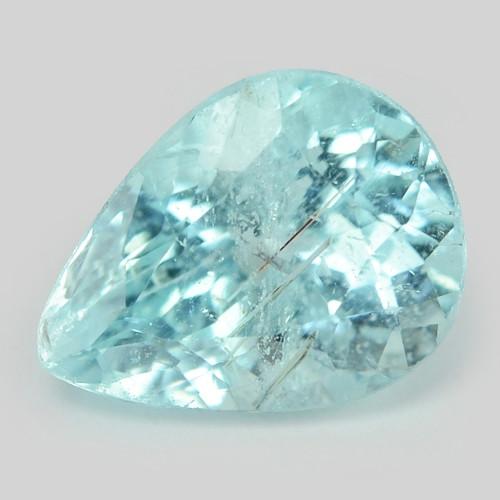 Blue Paraiba 0.97 Cts Natural Tourmaline Copper Bearing