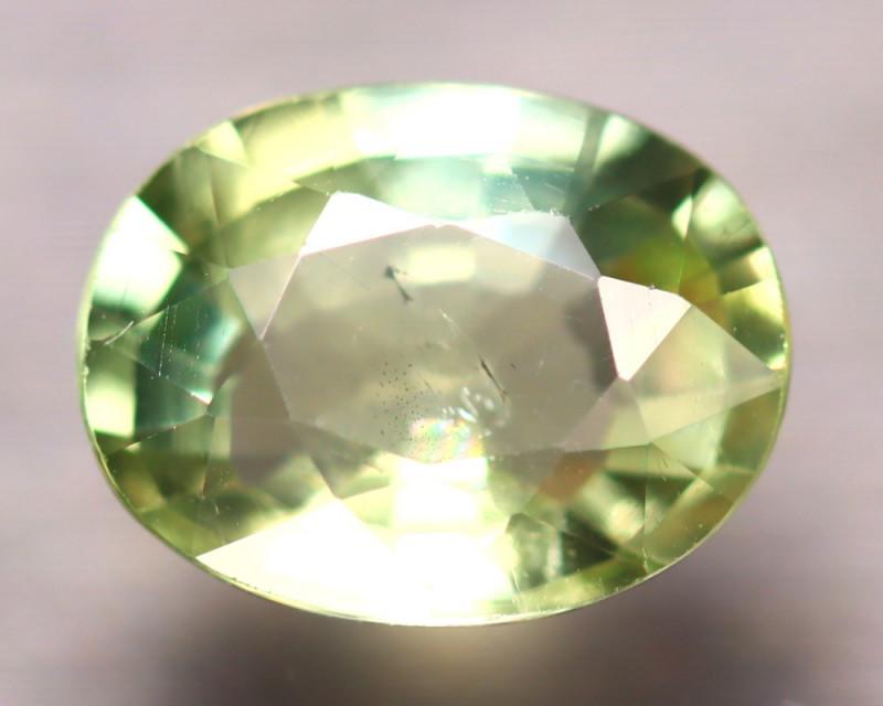 Apatite 2.00Ct Natural Green Color Apatite D0815/B44