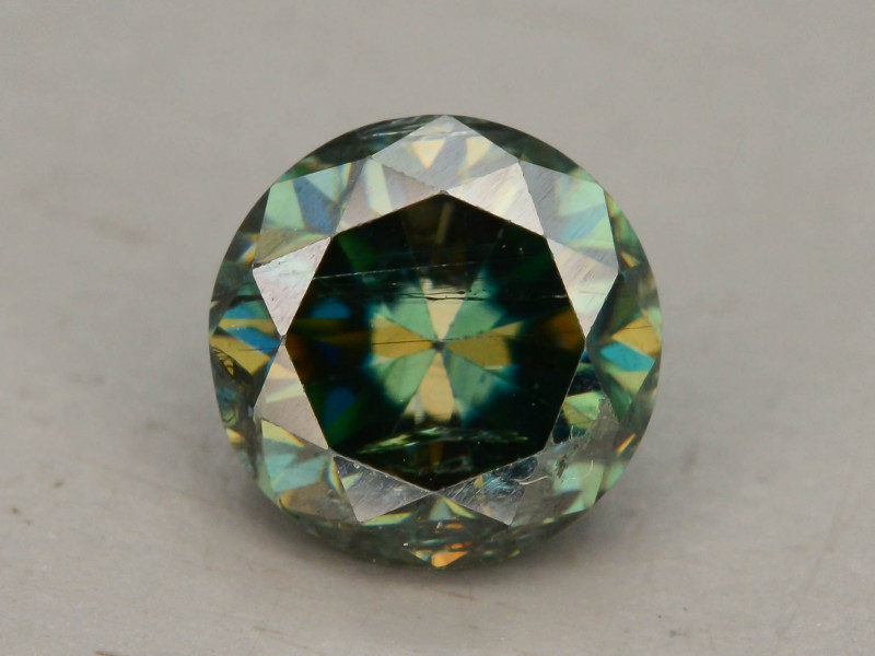 Blue Diamond 0.65 ct Top Grade Brilliance SKU-25 tz