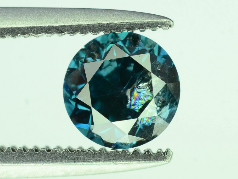 Top Quality 0.65 ct Blue Diamond