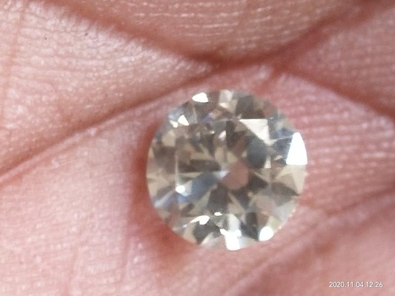 Natural SOLITIARE  GH white diamond 1.02ctwsize 1pcs