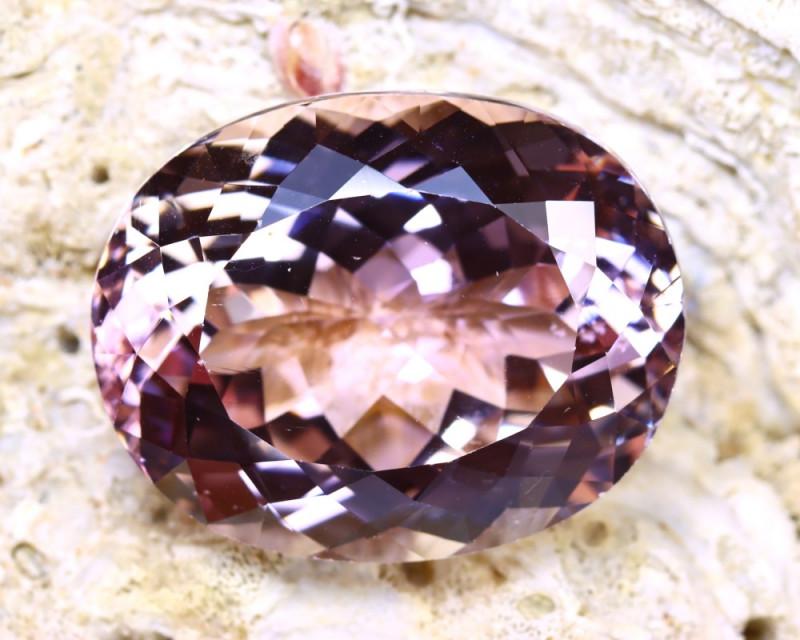 Pink Kunzite 84.20Ct Natural Pakistan Purplish Pink Kunzite ER417/B46