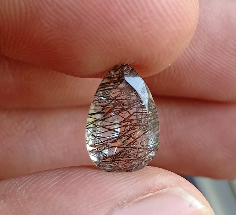 Natural Rutilated Quartz A++ Quality Gemstone VA2014