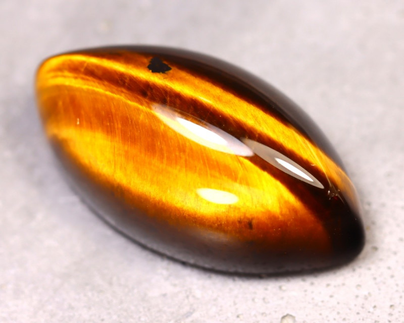 Tiger Eye 28.16Ct Natural Untreated Golden Tiger Eye ES1311/C1