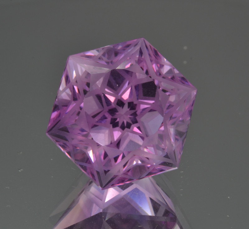 Natural Amethyst 21.10 Cts Top Quality with Precision Cut