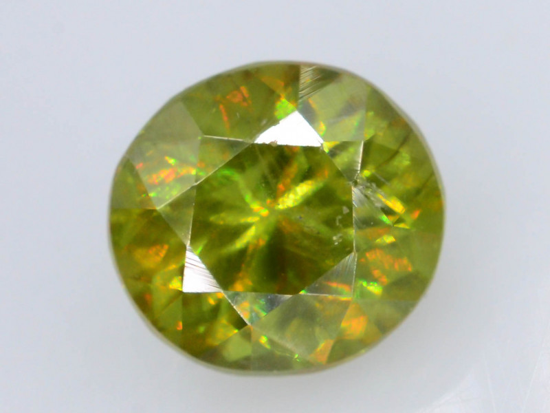Rarest Unbelievable Fire 1.10 Ct AAA Brilliance Chrome Sphene