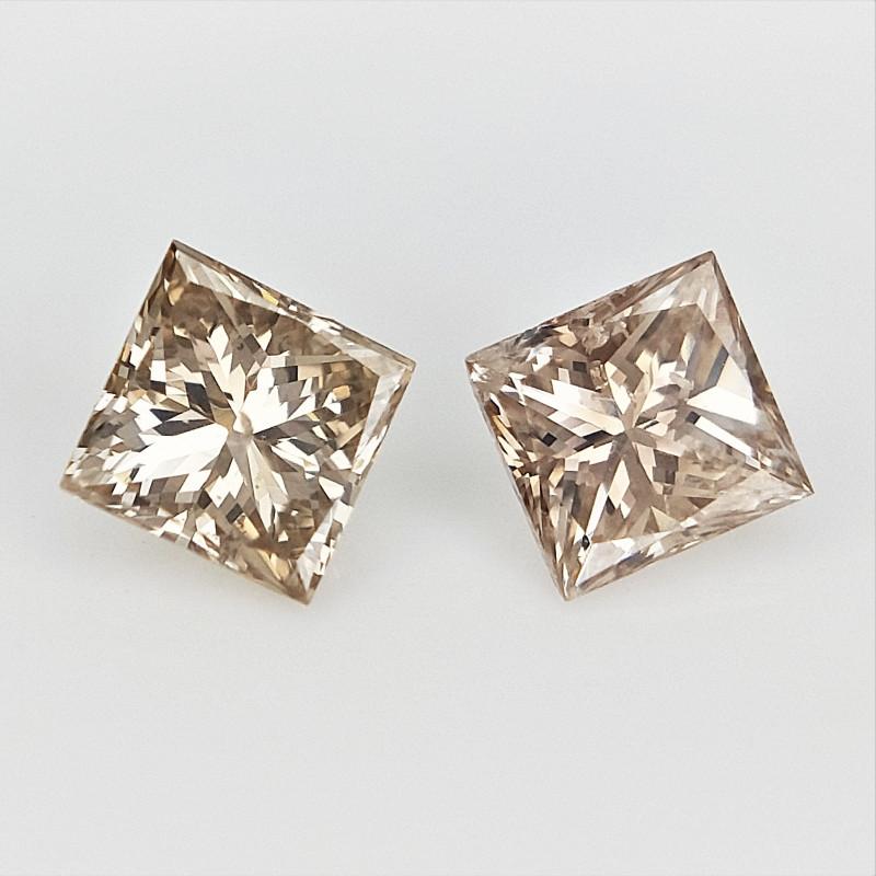 2/0.25 cts  , Bright Color Diamond , Sparkling Natural Diamond