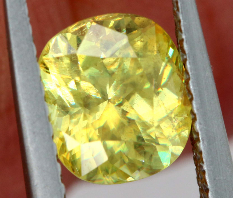 1.50 CTS YELLOW  TOURMALINE FACETED  PG -331