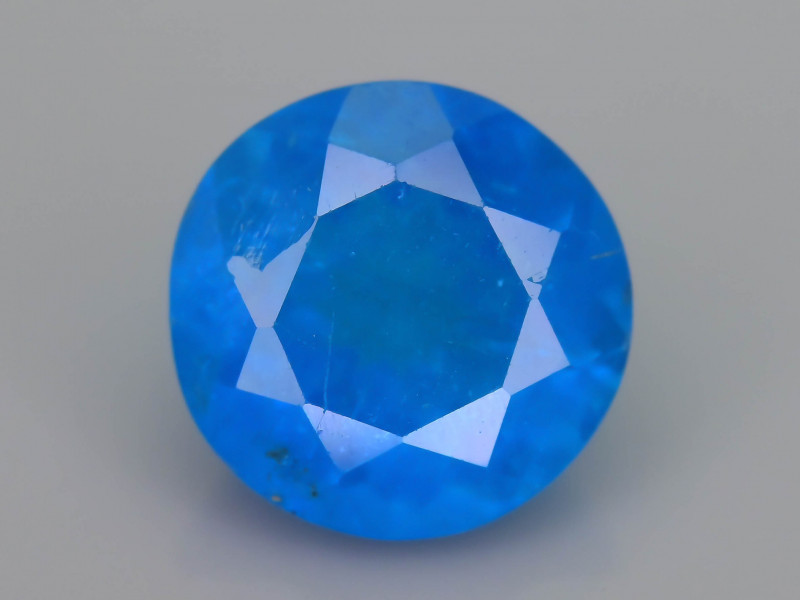 Blue Apatite 2.15  ct Amazing Luster SKU.17