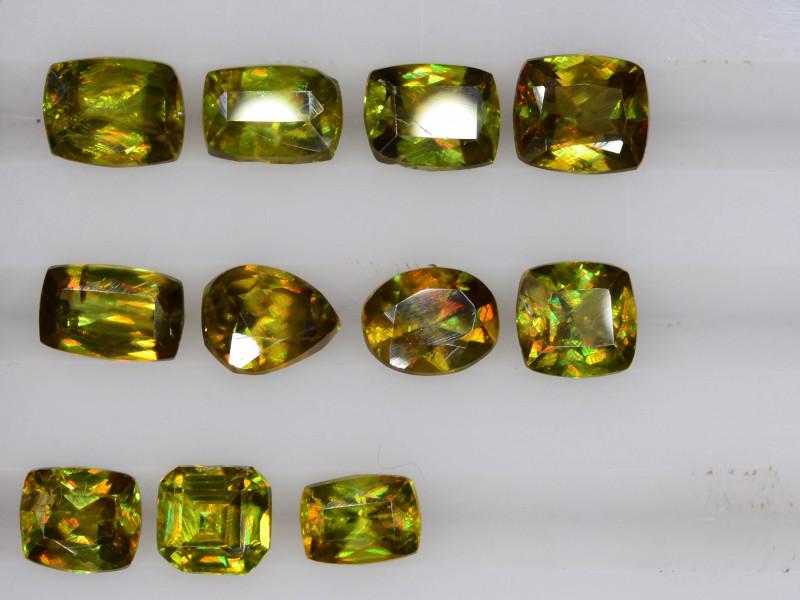 5.20  ct Natural Titanite Sphene ~ LOT