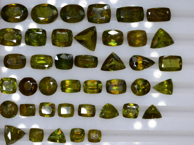 41.20 ct Natural Titanite Sphene ~ LOT