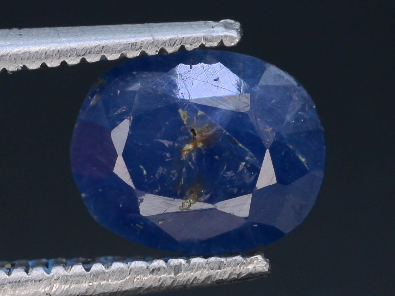 Top Color 1.55 ct Natural Blue Sapphire