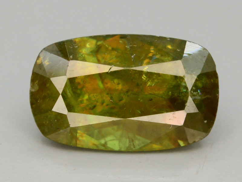 Rare AAA Astonishing Fire 2.50 ct Chrome Sphene from Himalayan Range Skardu